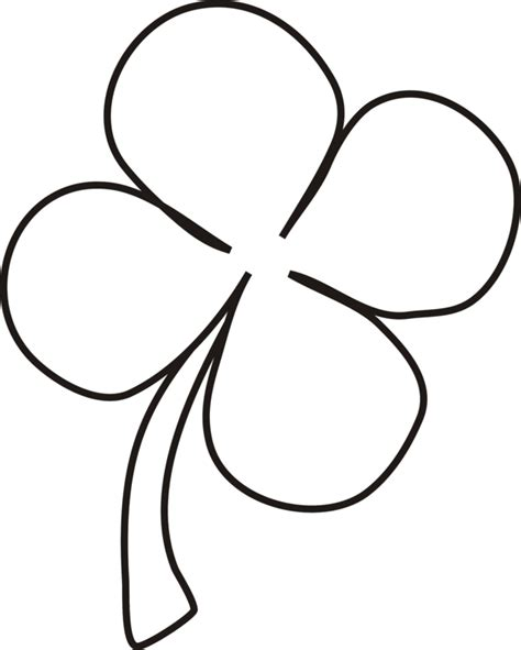 four leaf clover four leaf clover coloring pages best coloring pages for