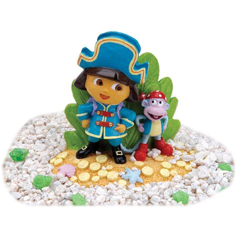 penn plax dora pirate aquarium decoration walmart com