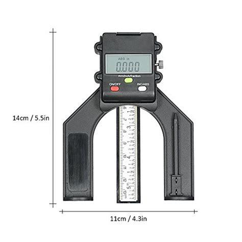 kkmoon  mm digital lcd display height gauge depth