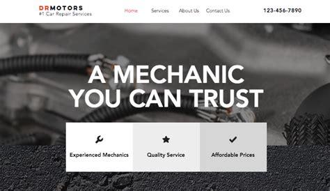 automotive cars website templates business wixcom