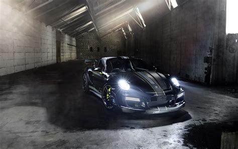 Porsche 911 Turbo Techart Gtstreet R 2017 Wallpapers Hd