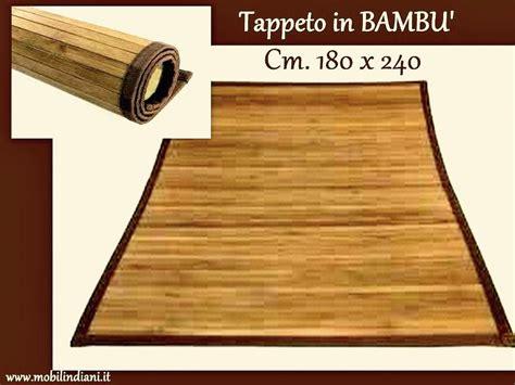 tappeti bambu tappeti e passatoie tappeto in bambu 180x240