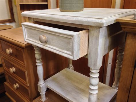 Shabby Chic Bedside Table Wolds Furniture Company