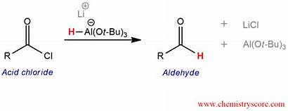 Conversion Lialh Otbu Aldehydes Bu Chemistryscore Reactions