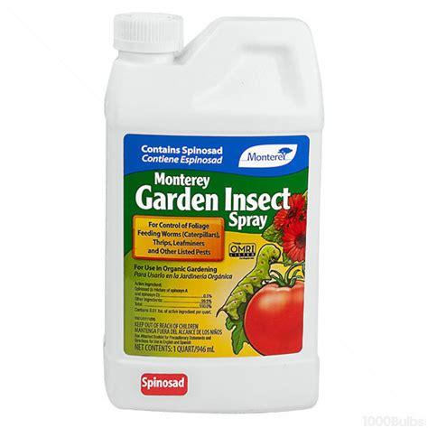 monterey garden insect spray monterey garden 704607 insect spray 1 qt