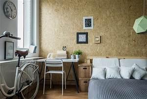Osb Platten Farbig Gestalten : tapeten mehr 12 ideen zur wandgestaltung im schlafzimmer ~ Markanthonyermac.com Haus und Dekorationen