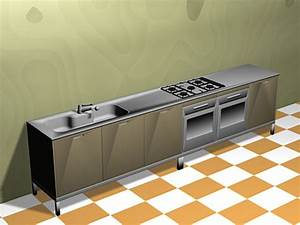 kitchen cooking furniture appliances cabinets 3ds 3d With kitchen furniture 3d free