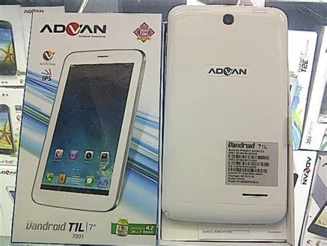 advan vandroid t1l tablet hanya 1 2 jutaan