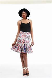 Women's African Fleak Skirt