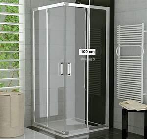 Dusche 100 X 100 : duschkabine eckeinstieg 100 x 80 x 190 cm schiebet r duschabtrennung dusche eckeinstieg ~ Bigdaddyawards.com Haus und Dekorationen