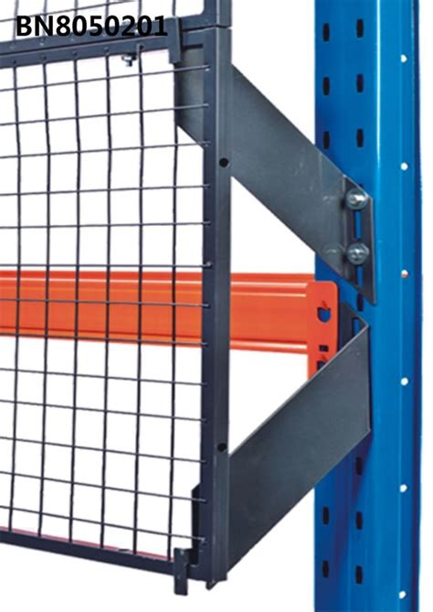 full welded pallet rack  guard  predrilled holes anti collapse