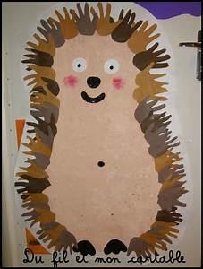 Pinterest Herbst Basteln : herbst basteln mit kindern pinterest handabdruck igel und herbst ~ Orissabook.com Haus und Dekorationen