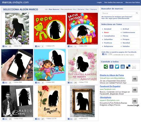 marcos  fotos gratis  aplicacion  facil de usar