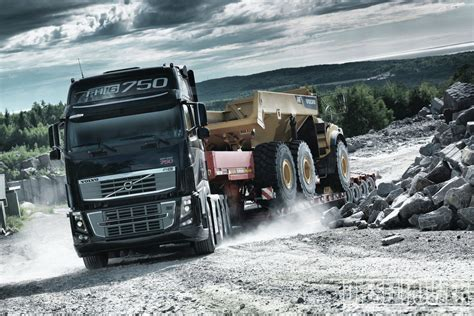 january  industrial power volvo fh  photo