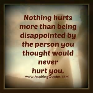 I Would Never Hurt You Quotes