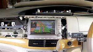 Toyota Estima  Acr 50  Original Head Unit With Papago Gps