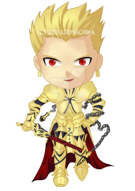 fate series upcoming anime fate series gilgamesh chibi by kixmachina on deviantart