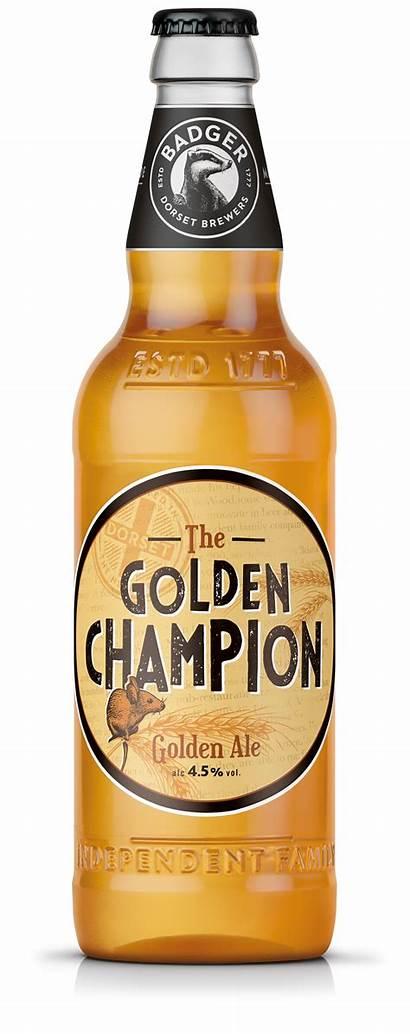 Champion Golden Hopping Hare Beer Badger Beers