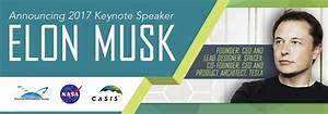 SpaceX Founder Elon Musk Named Keynote Speaker at Annual ...