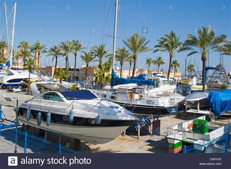 Boat Storage In Spanish by Boat Storage For Winter Fuengirola City Costa Del Sol