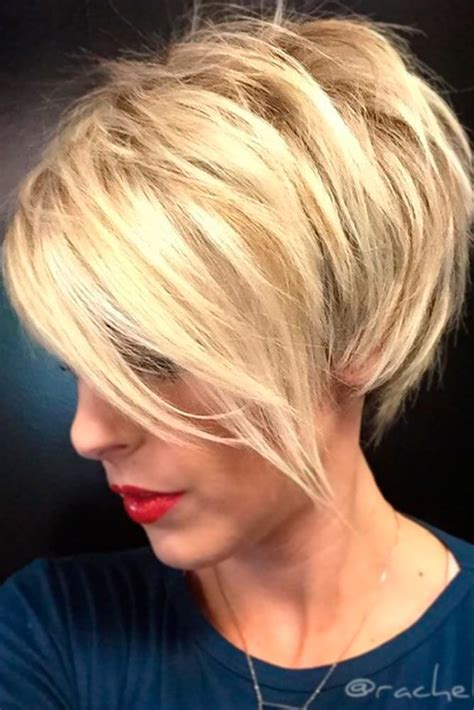 ideas  short layered hairstyles  pinterest