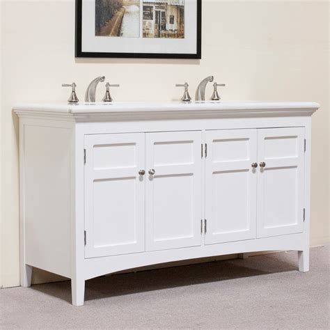 60 inch bath vanity double sink marble top white 60 inch double sink vanity contemporary