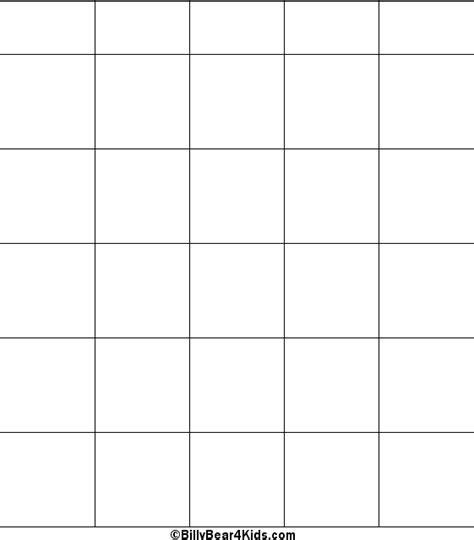 blank bingo template enoch s blank bingo cards to print