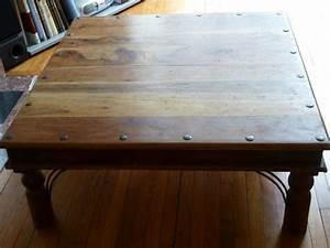 Table Bois Exotique : plateau bois 40cm porte clasf ~ Farleysfitness.com Idées de Décoration