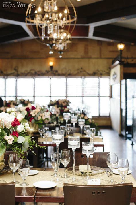 rustic burgundy engagement party elegantweddingca