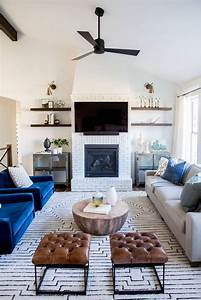 exceptional, living, room, furniture, arrangement, with, fireplace