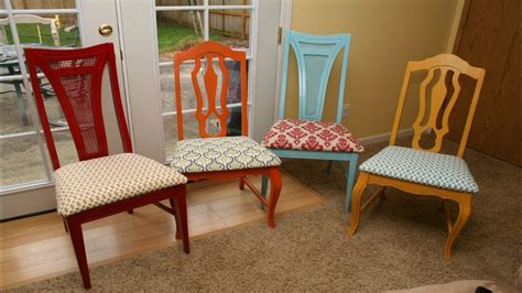 How To Reupholster Kitchen Chairs  Youtube
