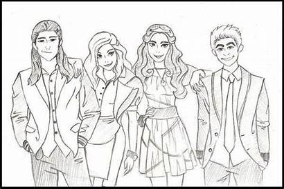 Descendants Coloring Pages Disney Colouring Wicked Evie