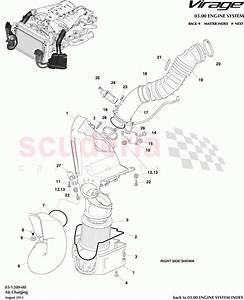 Aston Martin Virage Air Charging Parts