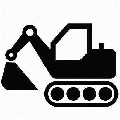 Equipment Icons Construction Heavy Icon Machinery Newdesignfile
