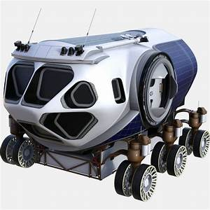 NASA Space Exploration Vehicle Concept Free 3D Model