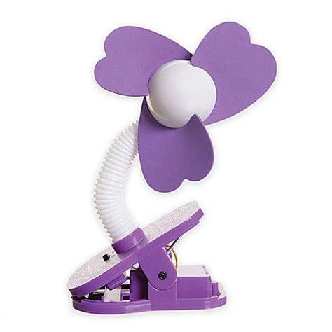 clip on fan for bed buy dreambaby clip on fan in purple white from bed bath