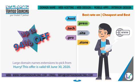 Cheap domain names compared 07/2021. Cheap Domain Name Registration 2020   Vertigo Sourcing