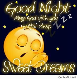 Good night & sweet dreams funny picture