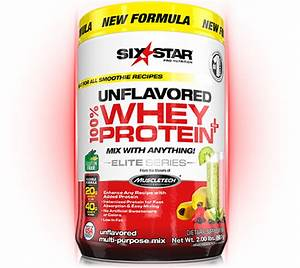 Unflavored 100  Whey Protein Plus