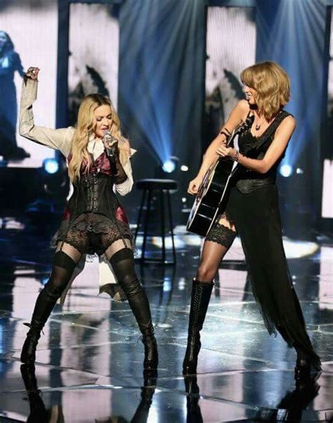 Taylor Swift and Madonna