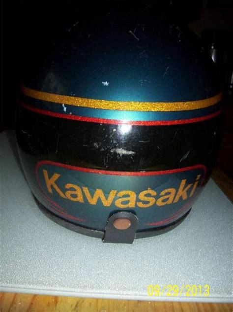 sell vintage kawasaki snowmobile helmet seer double lens