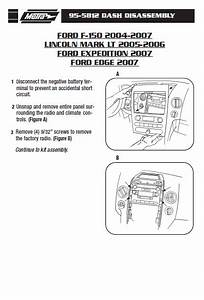 2007 Ford Escape Installation Parts  Harness  Wires  Kits
