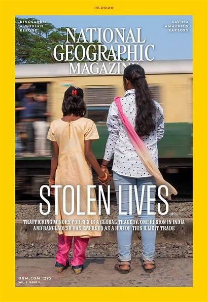 Geographic National Magazine Subscription October Ngm India