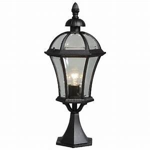 Lampe D Extérieur : lampe d 39 ext rieur pour sol m tal noir style urbain luminaires ~ Teatrodelosmanantiales.com Idées de Décoration