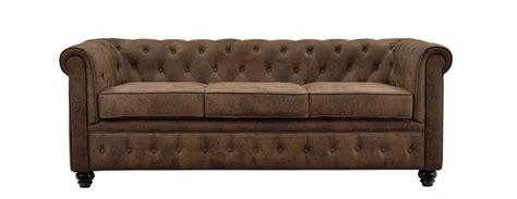 canape cuir vieilli vintage canapé chesterfield marron vieilli achetez nos canapés