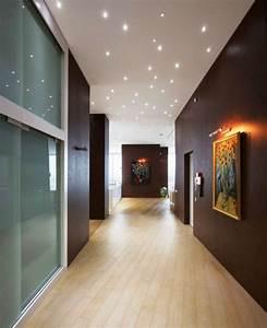 Surprising star light ceiling lights hallway design