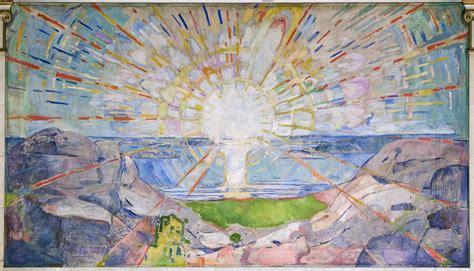 Munchs Sonne in der Aula - Norwegen-Service