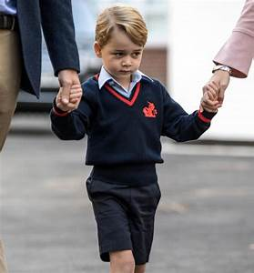 Prince Charles gives his say on Prince George's first day ...