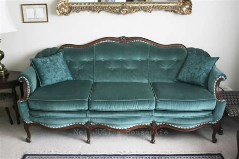 turquoise settee loving your home not just a