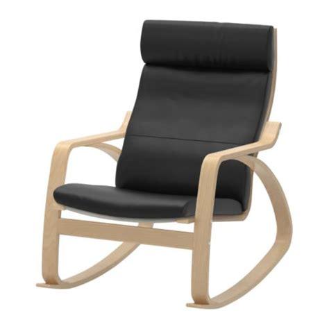 po 196 ng rocking chair smidig black ikea